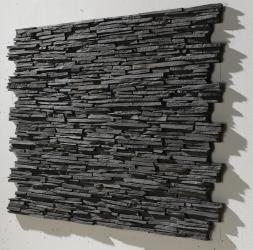 pizarra alpes grau - Steinwand Grau
