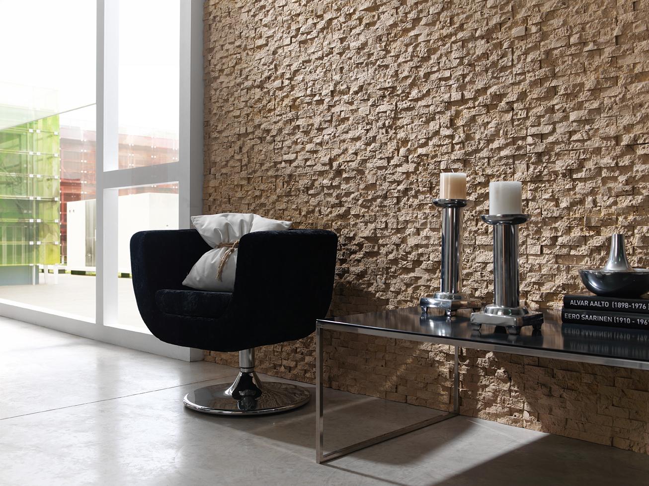 Steinoptik onlineshop steinwand wohnzimmer - Pareti decorative in pietra ...