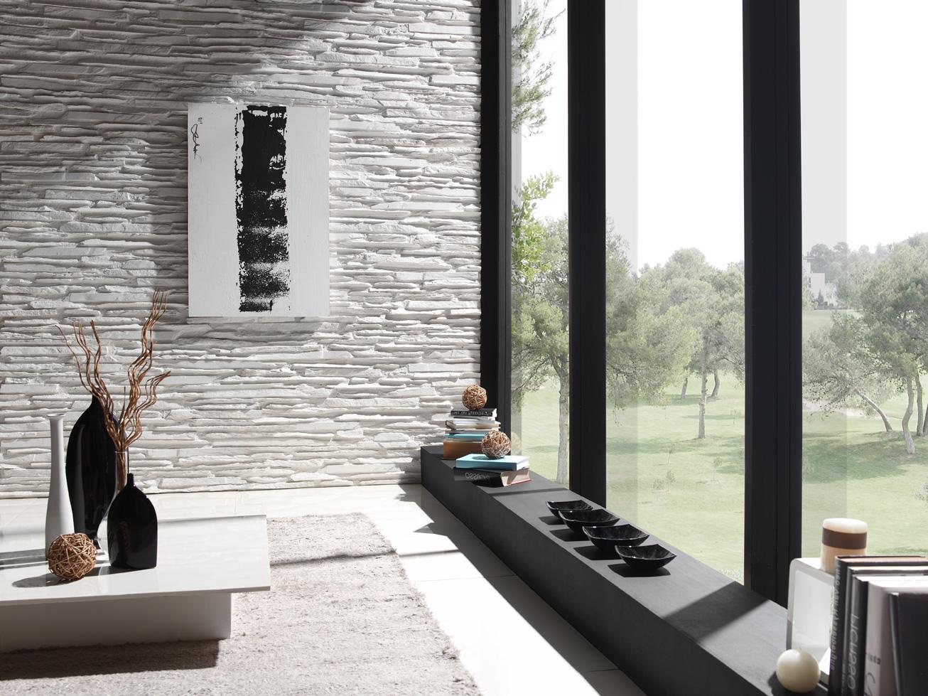 Steinwand weiß alles über keramikfliesen