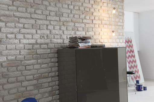 Urban Brick - altweiss