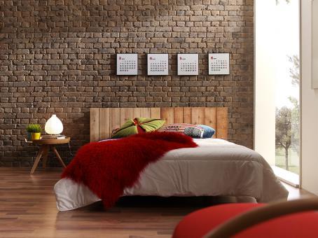 Ziegelsteinwand Brick Ladrillo Old British - alle Farben