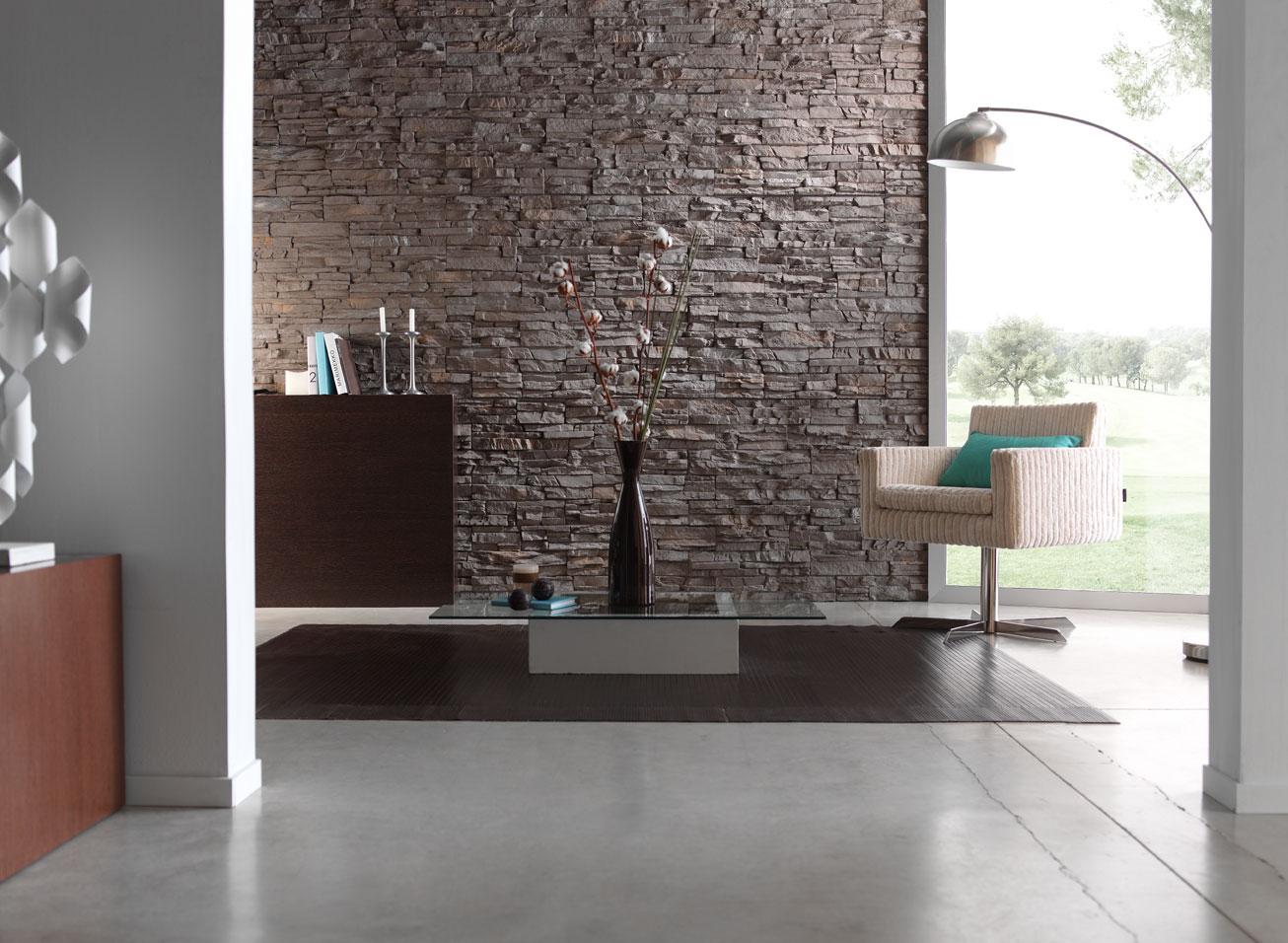 Von Der Klassischen Steinwand, Die Immer Noch Am Beliebtesten Ist, Bis Zur  Hochmodernen Wandverkleidung In Schicken Designs Finden Sie